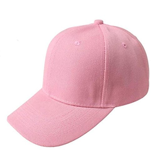 8fb5cd5f486 Hot Sale!!!New Fashion Unisex Solid Color Baseball Cap Fashion Shopping  Cycling Duck Tongue Hat Sun Hat (Pink) - Buy Online in Oman.