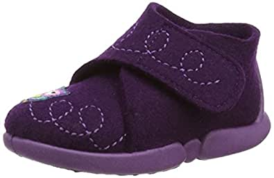 Rohde Tubbie, Chaussons montants Fille - Violet (59 Brombeere), 23 EU