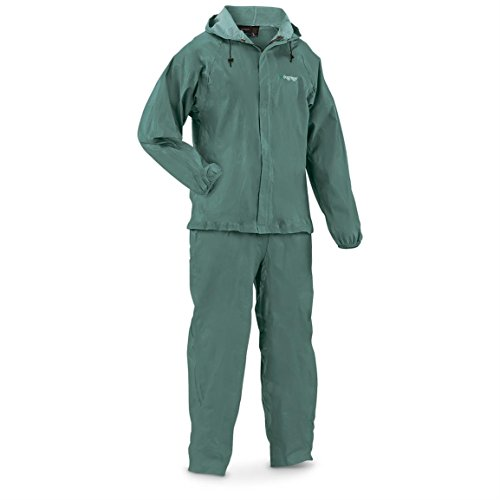 frogg toggs Men's Ultra-Lite2 Suit, Forest Green, M by Frogg Toggs (Green Jacket Herren Suit)