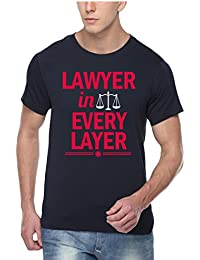 pepperClub Men's Printed T-Shirt - I'm Lawyer in Every Layer
