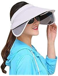 Gorros Gorro De Verano Al Aire Libre para Mujer Gorro Ancho Clásico Sombrero  para El Sol c7f1f422be79