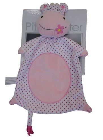 Mädchen Baby Comforter-Kuscheltuch- Trösterchen Nilpferd -Hippo