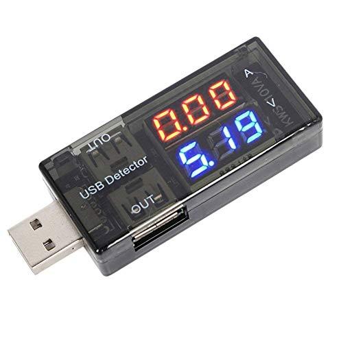 Ogquaton Premium USB Strom Spannungsprüfer Checker Power Meter Voltage Monitor Praktisch (Strom-checker)