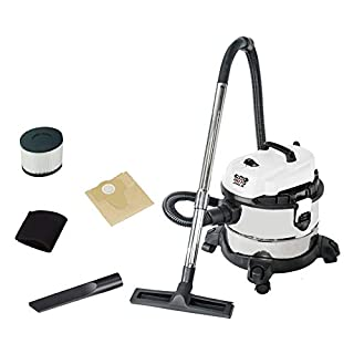 Autojack Wet & Dry 1200W Vacuum cleaner with stainless steel tank and HEPA Filter