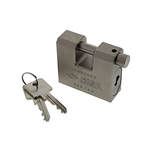Cisa 28550-66, Candado blindado 66 mm para persianas enrollables