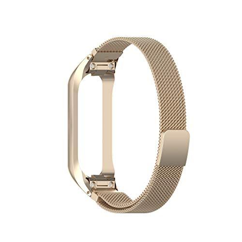 Omiky Milanese Edelstahl uhrenarmband Armband für Samsung Galaxy fit-e r375 Samsung Galaxy fit e SM-R375 Box + Milan Gurt