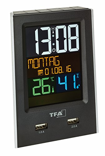 tfa-dostmann-60253701-charge-it-radio-controlled-alarm-clock-with-charge-function-colour-display-and