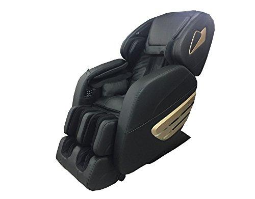 Rokol 7906C - Sillón de masaje profesional, negro, masaje corporal en 2D,...