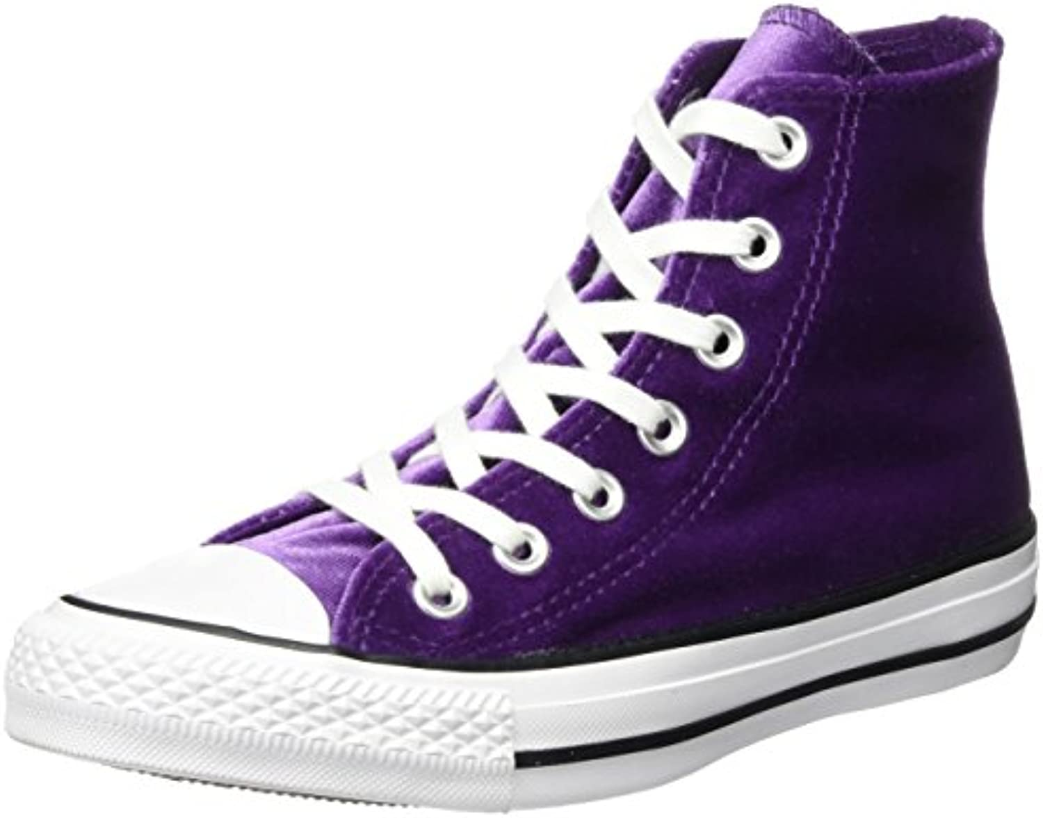 Converse CTAS Hi Night Purple White, Zapatillas Altas Unisex Adulto -