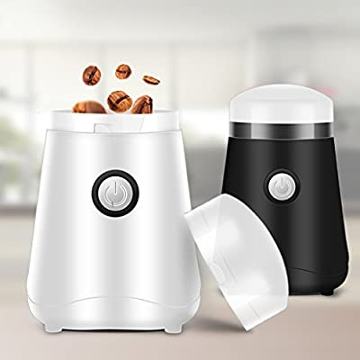 XINGQIANRU Electric Grinders Grinder Household Bean Mills Commercial Coffee Machines Small Form Factor Storage Doesn't Take Place(11*11*17Cm) by XINGQIANRU