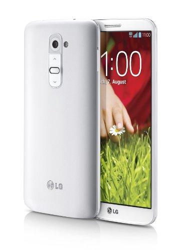 LG G2 - Smartphone libre Android  pantalla 5 2   c  mara 13 Mp  16 GB  Quad-Core 2 3 GHz  2 GB RAM   blanco