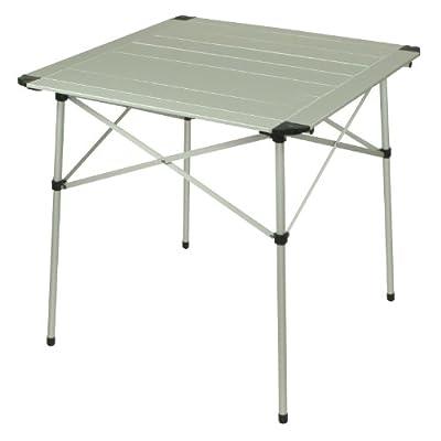 Camping-Tisch 70x70cm mit Lamellensystem-Tischplatte