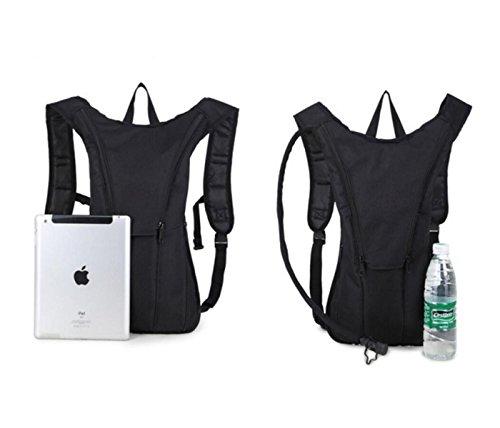 Sporttasche Tasche Outdoor-Rucksack Militärischen Fans Reiten Taschen Rucksack Bergsteigen black