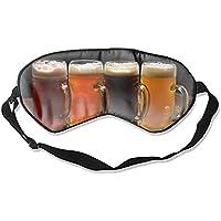 Schlafmaske, Schlafmaske, Set mit Bier-Pints, Augenschutz für Frauen und Herren, bequem, tiefes Augenmasken, leicht... preisvergleich bei billige-tabletten.eu