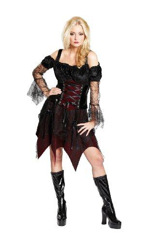 Kostüm Gothic Queen - Rubie's 1 3602 38 - Gothic Queen Kostüm, Größe 38