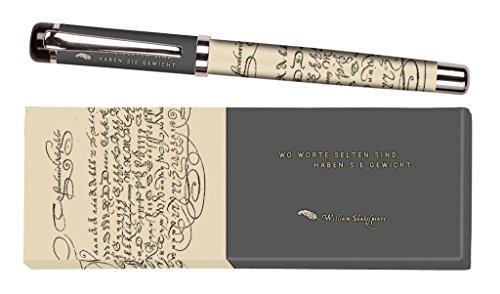 moses. 81044 libri_x Tintenroller William Shakespeare, Tintenschreiber mit austauschbarer Mine, in...