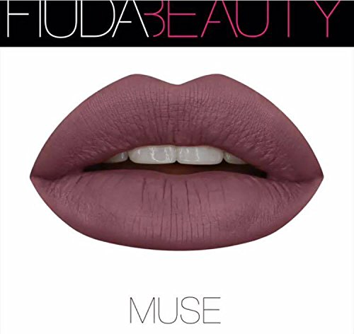 Huda Beauty, rossetto liquido opaco da 5 ml, modello Muse Shade