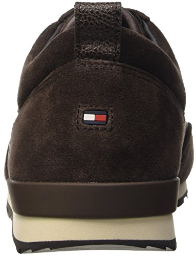 Tommy Hilfiger M2285axwell 11c1, Pompes à plateforme plate homme Marrone (Coffee Bean (212))