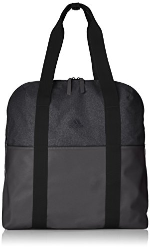 adidas Damen Training ID Schultertasche, Black/Carbon, 17 x 38 x 44 cm