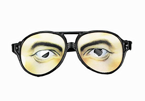 Lustige Party Brille Entzückende Glas-Parteiversorgungsblickfang Männer