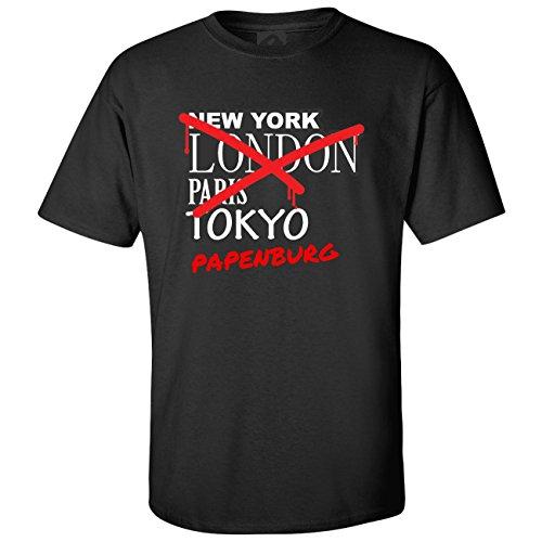 JOllify T-Shirt PAPENBURG T1246 - Farbe: schwarz - Design 3: Graffiti Streetart New York - Größe XXXL 3XL