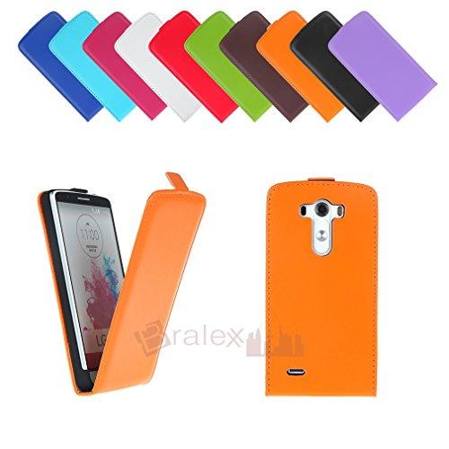 BRALEXX A12312 Fliptasche für LG G3 orange