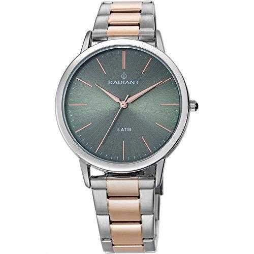 Radiant watch RA424205 Unisex Green Steel