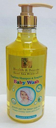 Salud y belleza Tearless Champú y Soapless bebé Wash, 780ml