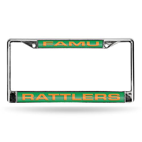 Rico NCAA Florida A & M University Laser Cut Chrom Teller Rahmen, silber, 30,5cm/15,2cm Preisvergleich