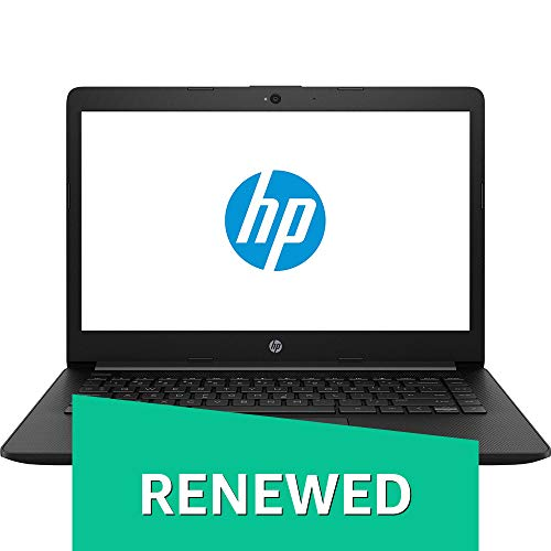 (CERTIFIED REFURBISHED) HP 14Q CS0009TU 2018 14-inch Laptop (7th Gen Core i3 7020U/4GB/1TB/DOS 2.0/Integrated Graphics), Jet Black Laptops