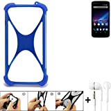 K-S-Trade Mobile Phone Bumper for Phicomm Clue 2S Silicone
