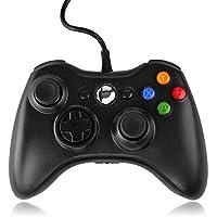 QUMOX Contrôleur Filaire USB Pad Joystick Joypad Gamepad Jeu Controleur Manette pour Xbox 360 Slim et PC Ordinateur…