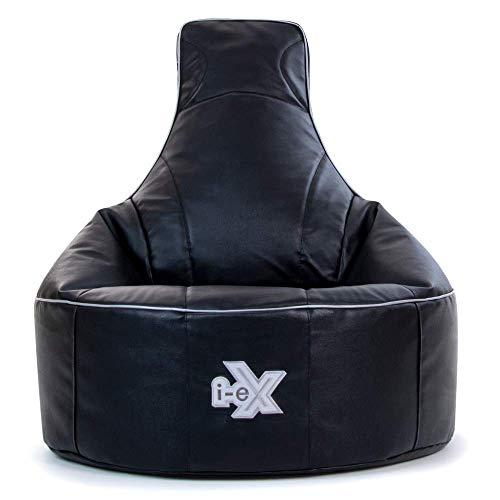 Silla de videojuegos i-eX® Rookie -Cuero sintético – Puf infantil