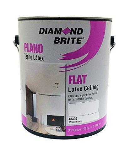diamond-brite-paint-40300-1-gallon-interior-latex-flat-acrylic-vinyl-ceiling-white-paint-by-diamond-