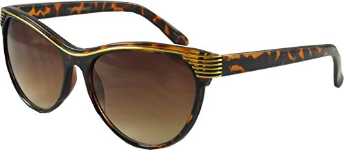 Revive Eyewear Damen Sonnenbrille Braun türkis