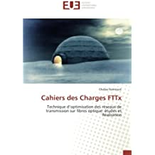 Cahiers des Charges FTTx
