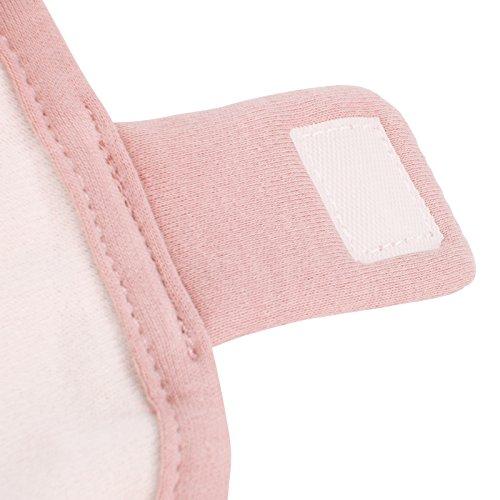 Infantastic Pucksack mit innovativer Wickeltechnik, Pucktuch Größe M und Blush Design