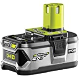 Ryobi RB18L40 ONE+ 4.0 Ah Lithium Battery, 18 V