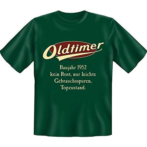 OLDTIMER, kein Rost, leichte Gebrauchsspuren,Top-Zustand! Baujahr Set Goodman design® Funshirt Gr: Farbe: dunkelgrün Dunkelgrün