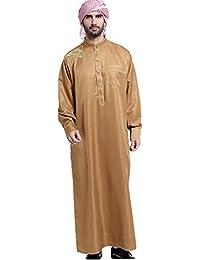 a86a93992f89 Dreamskull Muslim Abaya Dubai Muslimisch Islamisch Arab Arabisch Indien  Türkisch Casual Festlich Kaftan Robe Kleid Maxikleid