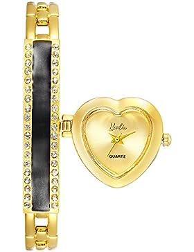 Barbie w50568l.04a Armbanduhr-Stil Prinzessin Form Zifferblatt-Herz