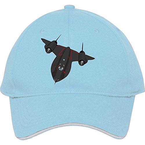 sr-71Blackbird Baseball Snapback Cap. Baumwolle in Frauen-edmundstevens Hüte verstellbar Hat, damen unisex Herren, hellblau