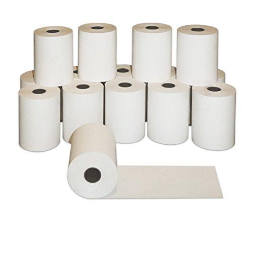 50 x Thermorollen 57mm x 40m x 12mm | Ø58mm | Bonrollen 57x40x12 | Qualitäts Kasserolle | zertifiziertes Thermopapier | Kassenrollen | HUTNER