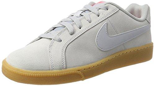 Nike Herren Court Royale Suede Sneaker, Grau (Wolf Grey/wolf Grey-solar Red-gum Light Brown), 40 EU Sanyo Bundle