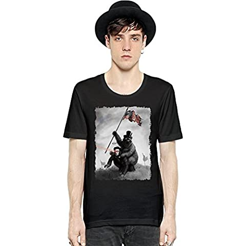 Bear The Lincoln Slayer Manica corta da uomo T-shirt