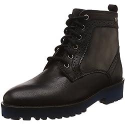 Hush Puppies Women's Betty Black Leather Boots - 5 UK/India (38 EU)(5046956)