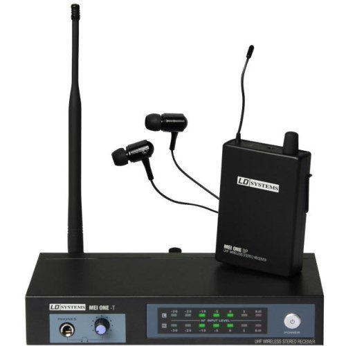 LD Systems LDMEIONE2 MEI ONE In-Ear Monitoring System drahtlos 864,100 MHz schwarz