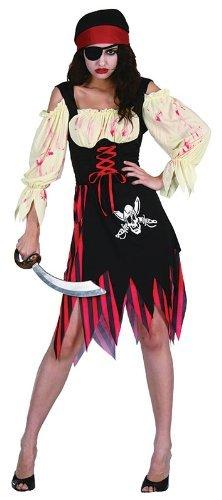 Pirate Zombie Wench - Adult Fancy Dress Costume by Bristol Novelties