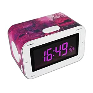 bigben rr30 radio alarm clock cat on sofa tv. Black Bedroom Furniture Sets. Home Design Ideas