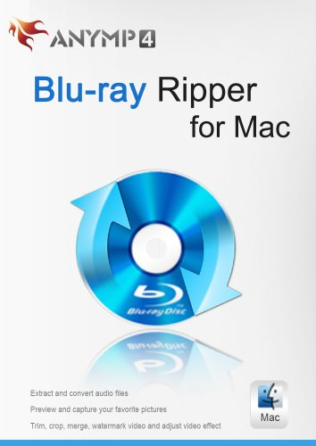 Price comparison product image AnyMP4 Blu-ray Ripper for Mac [Download]